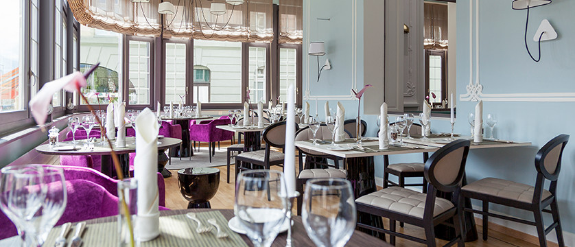 Hotel Royal St. Georges, Interlaken, Bernese Oberland, Switzerland - restaurant set up.jpg